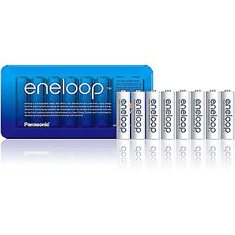 Panasonic eneloop AA Rechargeable Ready-To-Use Ni-MH Batteries , Pack of 8 (BK-3MCCE/8LE)