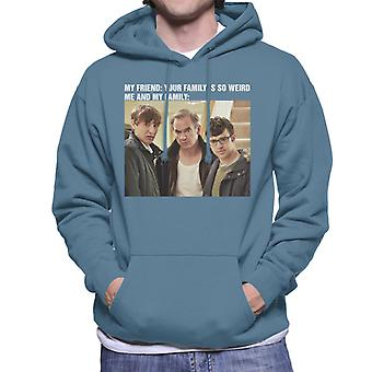 Friday Night Dinner My Family Meme Men's Hooded Sweatshirt