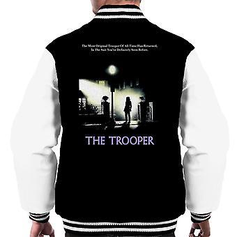 Original Stormtrooper The Trooper Exorcist Parody For Dark Men's Varsity Jacket