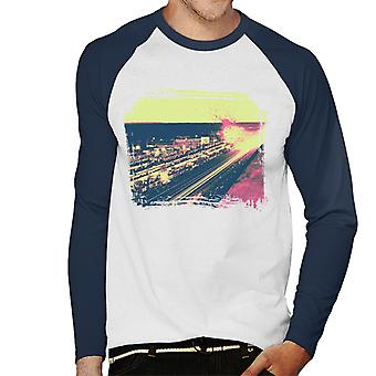 Motorsport Images Le Mans At Night Hommes-apos;S Baseball Long Sleeved T-Shirt