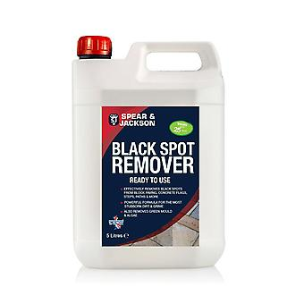 Black Spot Remover 5L by Spear and Jackson Ready to Use for Patio and Driveway