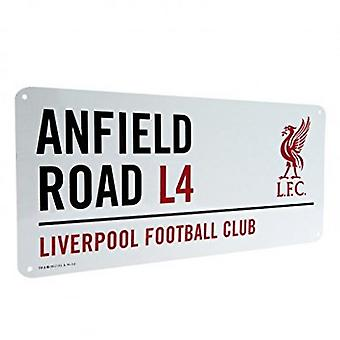 Liverpool FC officielle fodbold Metal Street tegn