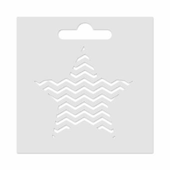 Aladine Mini Stencil -tähti