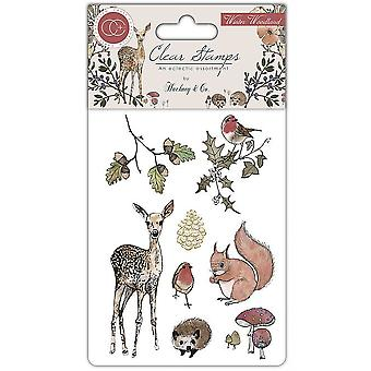 Craft Consortium Clear Stamps - Winter Woodland