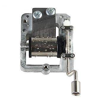 Mini Hand Cranking Music Movement - Diy Music Box Decorative Collectibles