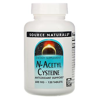 Source Naturals, N-Acetyl Cysteine, 600 mg, 120 Tablets