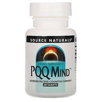 Fuente Naturales, Mente PQQ, 60 Tabletas