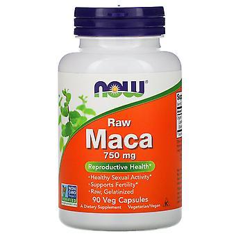 Maintenant Aliments, Maca, Raw, 750 mg, 90 Capsules de légumes
