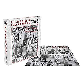 The Rolling Stones Jigsaw Puzzle Exile On Main Street Cover Official 500 Piece