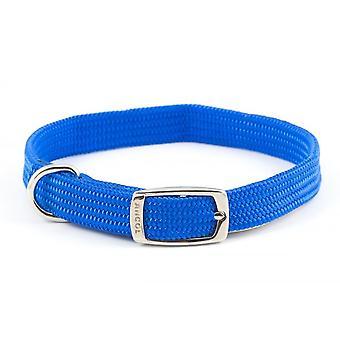 Ancol Puha sző gallér - Méret 2 (14 inch) - Kék
