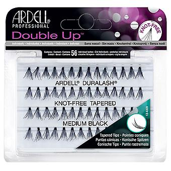 Ardell Duralash Double Up Soft Touch Individuals - Medium Black - Knot Free Lash