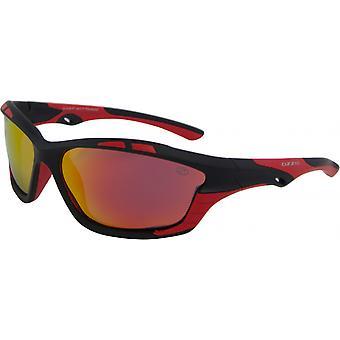 Sunglasses Unisex Sport Polarizes Black/Red (14:36 P7)