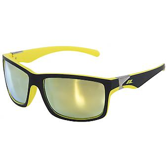 Sunglasses Junior Dropmatt black/yellow
