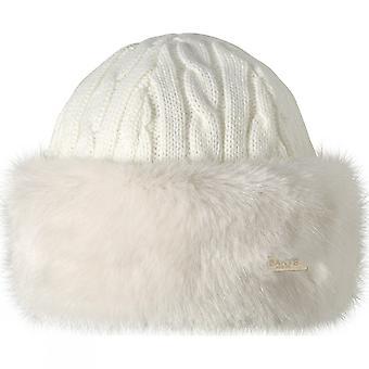 بارتس النسائي/السيدات الفراء حك كبل الحارة تقليم المشي قبعة قبعة صغيرة