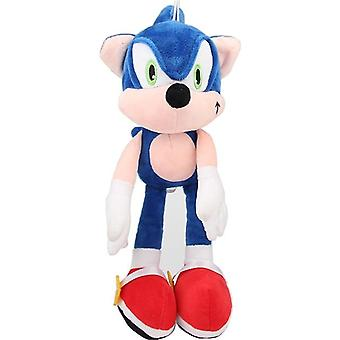 1pcs 25/30cm Sonic Plush Doll Toys - Black /blue/ Yellow Sonic Plush Soft Stuffed Toy For Children