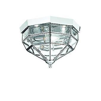 Ideal Lux Norma - 3 luz interior pared / techo luz cromo, claro, E14