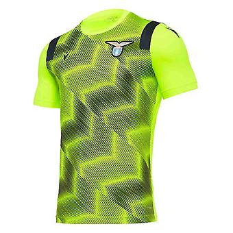 2020-2021 Lazio Trainingsshirt (Geel)