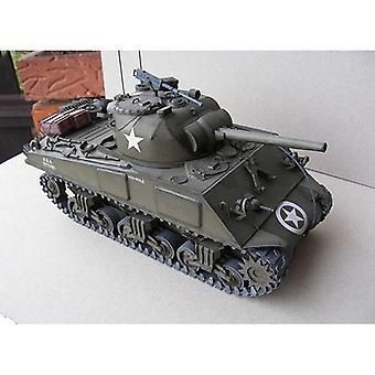 Sherman Medium Tank Fai da-da-metà -3d Carta Carta Modello Set di costruzione- Costruzione