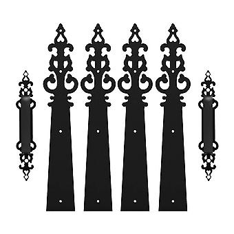 Braided Style, Decorative Door Handle Hinges