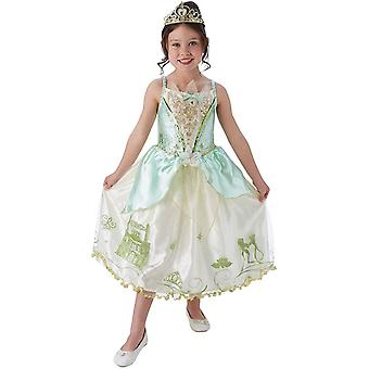 Officiella Disney Princess Sequin Tiana Classic Kostym - Large