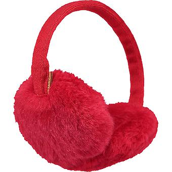 Barts Plush Earmuffs - Red