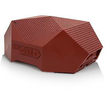 outdoor tech turtle shell 3.0 rugged wireless boombox  - chilli oil red