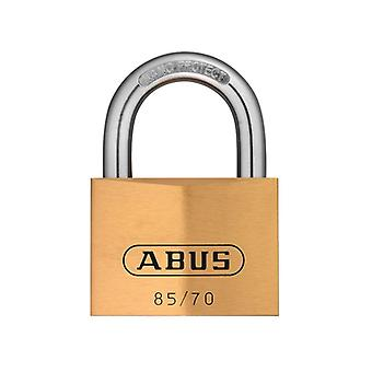 ABUS 85/70mm Brass Padlock Keyed Alike 121 ABUKA02498