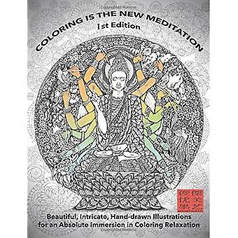 Coloring Is the New Meditation 1st Edition: Beautiful, Intricate, Hand-Drawn Illustrations for� an Absolute Immersion in Coloring Relaxation: Kent Chua Enchanted Ink