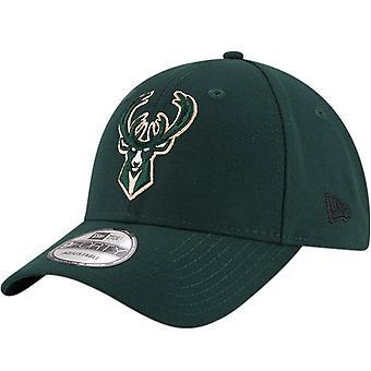 Neue Ära 9FORTY Milwaukee Bucks NBA Basketball Die Liga Baseball Cap - grün