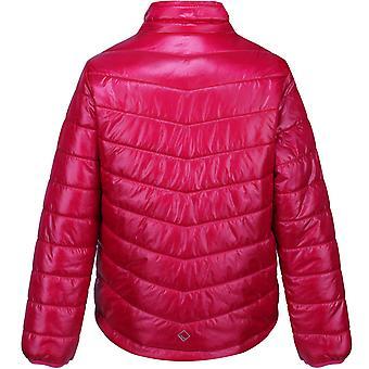Regatta Kids Freezeway ll Insulated Quilted Walking Jacket Coat - Dark Cerise