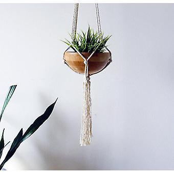 Macramen kasvin ripustin