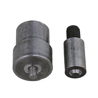 Metal Eyelet Mold Setter for Hand Press Grommet Puncher Install Machines 5mm