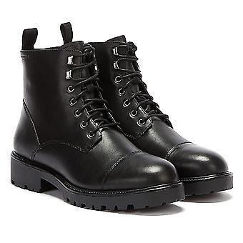Vagabond Kenova Lace Up Warm Lined Womens Black Boots