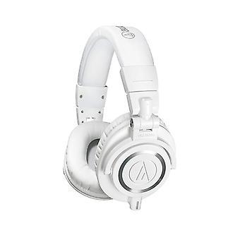 Audio-technica ath-m50xwh ammattimaiset studionäyttökuulokkeet, valkoinen