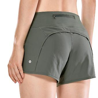 Women's Athletic, Workout, Shorts sport avec zip pocket