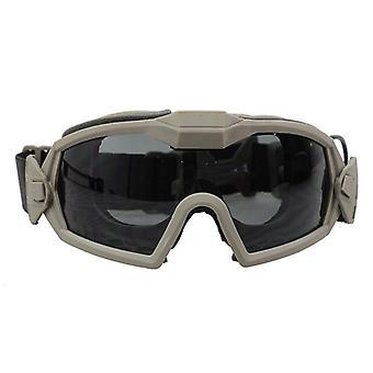 Óculos regulador - Óculos táticos de proteção dos olhos de segurança do paintball
