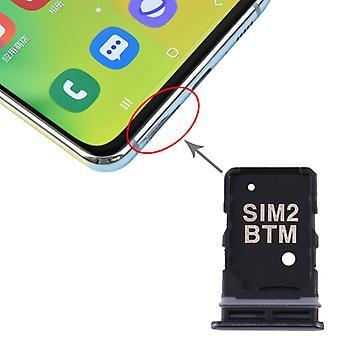 SIM-korttilokero + SIM-korttilokero Samsung Galaxy A80: lle (musta)