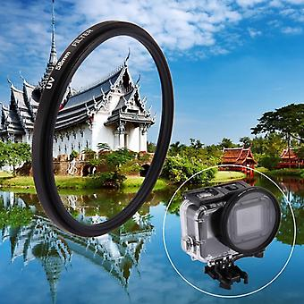58mm 3 1 pyöreä ympyrä UV-objektiivisuodatin korkki GoPro HERO7 Musta / 6 /5
