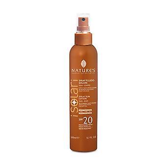 SPF20 solar fluid spray 200 ml