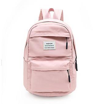 3set Backpack Casual Women School Backpack Multi-pocket School Bag