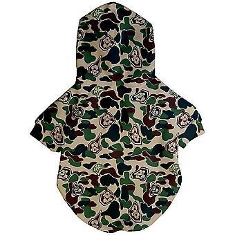 Hype Camo Hoodie | Dog Clothing
