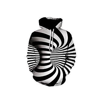Swirl Pullover Hoodie Sweatshirt