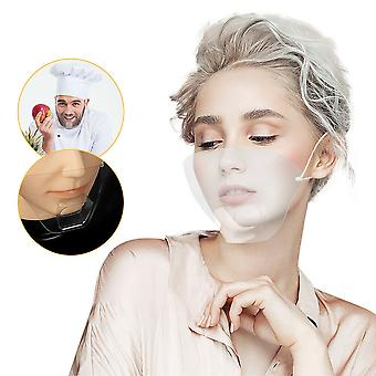 Durable Mask Face Shield Reusable Clear Transparent Protection