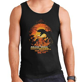 Jurassic Park Exists To Remind Us How Very Small We Are Men's Vest