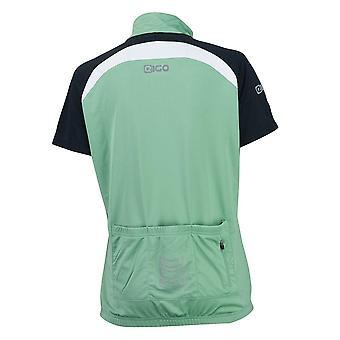 Eigo Helena Femmes Short Sleeve Cycling Jersey Sage / Blanc