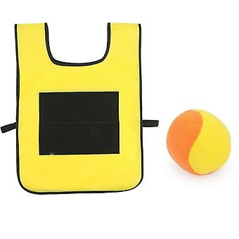 Vest Waistcoat With Sticky Ball - Throwing