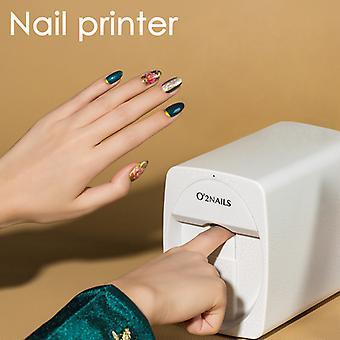 2020 hotest mobile nail printer Pattern nail Printing machine Portable Nail Printer Mobile 3d Nail Printer Nail Art Equipment