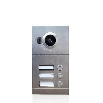 Video telefon kamera Ip call panel nagy felbontású ajtócsengő vízálló