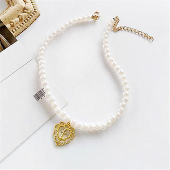 Pearl esztétikai személyiség ékszer nyaklánc dekoratív geometriai nyaklánc