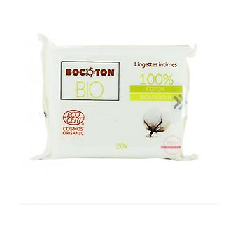 Intimate Wipes 20 units
